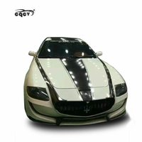 Wholesale rear spoilers for sale - Group buy Good fitment FD style body kit for Maserati Quattroporte front bumper rear bumper wing spoiler and side skirts