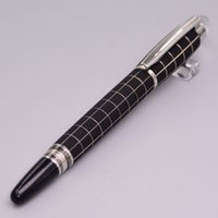 Wholesale ballpoint pens resale online - High Quality Star waikers Black Metal Rollerball Pen With MB Brands Serial Number