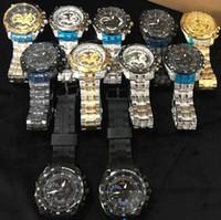 ingrosso orologi originali di design-orologio di lusso Orologio design EFR-550 Bull Steel Band per uomo al quarzo con scatola originale