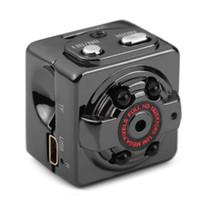 змеиные крючки бесплатная доставка оптовых-HD 1080P SQ8 мини карманная камера видеомагнитофон с инфракрасным ночного видения обнаружения движения крытый / открытый спорт портативная видеокамера