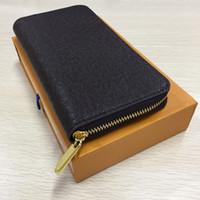 ingrosso prezzo della scatola della moneta-designer pochette borse griffate borse di lusso borse da uomo lunghi portafogli mens design borse pochette di design borse porta carte Z41422