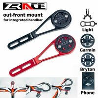 Wholesale spotlight for phone resale online - ZRACE Bicycle Computer Out front Mount Holder for integrated handbar iGPSPORT Garmin Bryton Mobile phone Spotlight