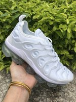 Wholesale cool running shoes for sale - Cool TN Running Shoes Classic Outdoor Run Shoes tn Black White Sport Shock Sneakers Mens requin Olive Silver In Metallic