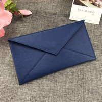 Wholesale caviar photo resale online - New high quality Design Luxury fashion women caviar leather long envelope standard Wallets Casual feminina purses