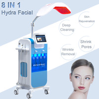 wasserinjektor großhandel-Hydrafacial Dermabrasion Water Peeling Ultraschall-Hautverjüngungsgeräte verbessern die Porenpermeabilität Oxygen Injector Spa
