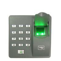 система контроля доступа к дверям отпечатков пальцев оптовых-Цифровой электрический RFID считыватель X6 палец сканер кодовая система биометрические отпечатков пальцев контроля доступа для замка двери домашней системы безопасности