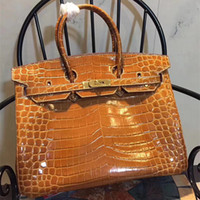 ingrosso serrature a zip-New Quality Iconic Berkin Taurillon Leather Fashion Totes Borse Chiusura a lucchetto Double Top Handles Vieni con il Dust Bag