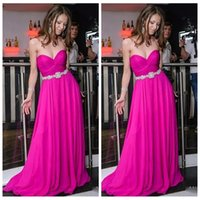 Wholesale gold special occasion dresses online - 2019 Sexy Sweetheart A Line Prom Dresses Sweetheart Special Occasion Party Gowns Sweep Train Long Custom Vestidos De Soiree Cheap