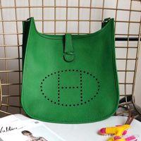 frauen große ledertaschen großhandel-2019 Damen-One-Shoulder-Bag Handtasche, Lederproduktion, große Kapazität, Design-Tasche, modisches und großzügiges Modell: Evlyn