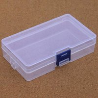Wholesale clear plastic transparent storage box online - Clear Plastic Storage Box Container Tools Case Screw Sewing PP Boxes Transparent Component Screw Jewelry Box GBN