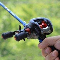 Wholesale shots lures resale online - HobbyLane BB Metal Baitcast Fishing Reel Right Left Hand Long Shot Lure Fishing Reel