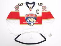 pavel datsyuk winter klassischen trikot großhandel-Billige kundenspezifische FLORIDA PANTHERS AWAY SAWYERS # 63 JERSEY-Stich addieren Sie eine beliebige Zahl jeden Namen Mens Hockey Jersey GOALIE CUT 5XL