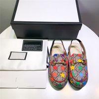 calçado infantil para moda infantil venda por atacado-Designer Crianças Sapatos de Luxo Crianças Sandálias Sandálias de Estrela Colorida Moda Casual Crianças Verão Calçado com Caixa de Alta Qualidade Sapatos