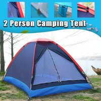 Wholesale tent poles fiberglass resale online - 2 People Outdoor Travel Outdoor Camping Tent Beach Tent Kit Fishing with Carry Bag for Hiking Traveling Fiberglass Pole