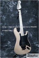 kostenlose gitarren-kits großhandel-Kostenloser Versand Lieferbar Starshine SR-LST-018 Unfinished DIY E-Gitarre, Gitarre Kits Handgemachte können benutzerdefinierte Hot Verkauf