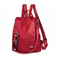 качественные дамские рюкзаки оптовых-2019 High Quality Women Backpack New Fashion Women Backpacks School Bag for Teenagers Backpack Ladies Bags  Designer
