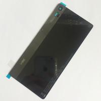 orijinal vibe toptan satış-Yamerepair Lenovo Vibe Z90a40 için Orijinal arka kapak Pil Kapağı Durumda yapışkan bant ve kamera cam