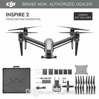 coffre à jouets d'hélicoptère achat en gros de-DJI Inspire 2 Drone - Va jusqu'à 58 mph! - Livré avec mallette de transport! - NOUVEAU