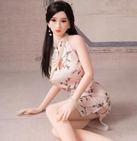 sexo feminino inflável mulheres venda por atacado-Brinquedos adultos do sexo para homens masturbação vida como o tamanho silicone real Boneca sexual japonês com voz doce mulheres infláveis