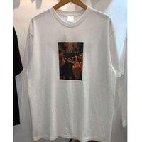 m dvd al por mayor-FW Blessed DVD Tee Men 1s: 1 La mejor calidad T Shirt Top Tees Camiseta de moda