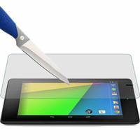 Wholesale 7 nexus tablet online – Screen Protector Tempered Glass For Google Nexus st nd Gen I II One Two quot Nexus7 Tablet Tempered Glass