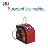 q cambio de venta laser al por mayor-Venta caliente ND Yag láser 532nm 1064nm 755nm pico láser Q-switches, eliminación de tatuajes con láser de picosegundo, máquina de picosegundos