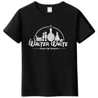 schlechtes mannt-shirt großhandel-2017 lustige t-shirts männer 100% baumwolle t-shirt kurzarm t-shirt brechen bad tops heisenberg t shirts