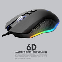 ratón d al por mayor-Fantech X5s Computadora Ratón con cable 4800 ppp USB Óptico PC Gaming Mouse Ratones Cable 6 D Para lol dota 2 PC Laptop Mouse Gamer