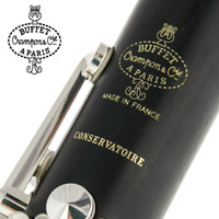 boquilla de clarinete bb al por mayor-Buffet Crampon Paris Professional Bb Clarinet CONSERVATOIRE Buffet Bakelite Clarinet Boquilla Accesorios Estuche