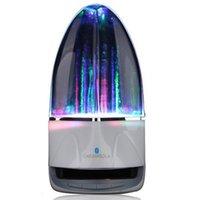 su dansı müzik çeşmesi hoparlör toptan satış-Taşınabilir Müzik Hoparlör Çeşme Renkli Işıklar Bilgisayar Cep Telefonu Subwoofer Hoparlör Moda Su Dans Carambola Yaratıcı Ses 4