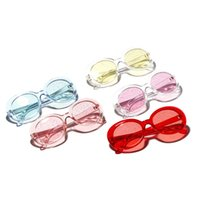 Wholesale flash female fashion resale online - Flash Powder Silver Light Sunglasses Female Eyeglasses Outdoor Shopping Spectacles Street Pat Red Yellow Small And Exquisite xg C1