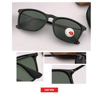 vidrio espejo cuadrado al por mayor-2019 nuevo top Hombres Gafas de sol polarizadas gafas cuadradas Gafas de sol Gafas de conducción Rectangle Shades For Men Oculos masculino Hombre gafas de sol