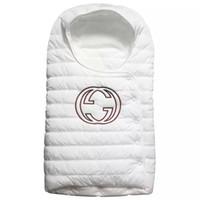 детское спальное меховое одеяло оптовых-Бренд Baby Down спальный мешок Новорожденный перо Спальный мешок осень зима одеяло Бесплатная доставка