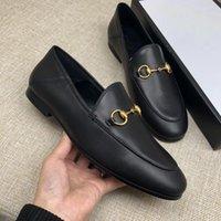 лучшие случайные бездельники оптовых-Лучшие предложения по продаже 2019 женщин из натуральной кожи Мода Мокасины Люкс мулов обувь высокого качества мокасины обувь Horsebit Повседневная обувь ew6