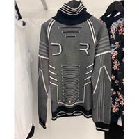 suéteres de moda de invierno al por mayor-Moda Hombres y mujeres Suéteres de diseño Suéter de invierno Streetwear de lujo Estilo espacial Suéteres de marca impresos Talla M-XL