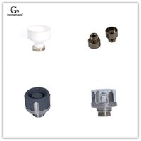 Wholesale packing dishes online - G9 Greenlightvapes Replacement Hybrid Nail Dish Titanium Silicon Carbide Quartz Ceramic Rreplaceable Pack Deep Dish