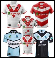 516b9e45c93 2019 2010 CRONULLA SHARKS St. George Illawarra Dragons Rugby Jersey 18 19  NRL National Rugby League Cronulla Sutherland Sharks Rugby S-3XL