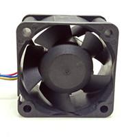 şiddetli fan toptan satış-Delta 4 cm4028 12 V Çift Top Şiddet Fan FFB0412SHN-A Bilgisayar Kabine Güç Kaynağı PWM Fan