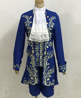 Wholesale cosplay costumes beauty beast for sale - Group buy Movie Prince Beauty and The Beast cosplay costume Halloween costumes for adult outfit cosplay performance Stage outfit