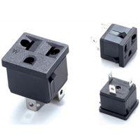 10set DC Power Male Plug+Female Socket+Waterproof Jack with Nut Panel Mount B$CA