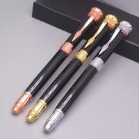ingrosso penne promozionali di qualità-Di buona qualità Classico MB Roller Ball Pen Ufficio scolastico forniture di marca metallo scrivere penne a sfera per il regalo dello studente promozionale