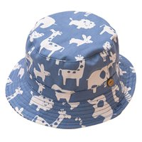 Wholesale baby bucket hats for girls for sale - Group buy Baby Boy Girl Hat Cap for Children Kids Toddlers Cotton Bucket Fishing Floppy Sun Hat Boys Girls M Years