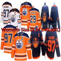 mulheres do jérsei venda por atacado-Edmonton Oilers Womens Jerseys 97 Connor McDavid Jersey 29 leon draisaitl 93 Ryan Nugent-Hopkins Hockey Jerseys