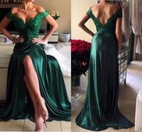 longo verde brilhante vestidos de baile venda por atacado-2020 verde esmeralda Maxi Prom vestidos de alta qualidade brilhante Meninas Alças Mulheres Long formal do partido Evening Vestidos Plus Size Vestidos De Fest