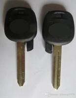 chipschlüssel toyota großhandel-KL22 Neue Uncut Ersetzen Remote Transponder Zündung Autoschlüssel für Toyota Tacoma Toy43 Klinge Kein Chip