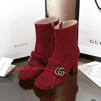 Wholesale soft leisure shoes resale online - Fashion Women Boots Best Quality Star Trail Ankle Boots With heavy duty soles leisure lady Boots shoes JP1117