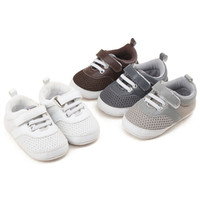 Wholesale magic stick sale for sale - Group buy 2019 New Arrival hot sale Infant Kids anti skid shoes Colorful Magic stick with latchet mesh breathable Warm Crib shoes