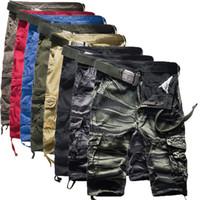 сумка для брюк оптовых-2019 Summer Overalls In Camouflage Multi Bag Trousers Fivepence Beach Pants K18 - P30 streetwear Casual Fashion