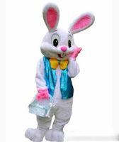 ingrosso cartone animato adulto di coniglio di pasqua-2019 nuovissimo caldo costume della mascotte adulto coniglio coniglietto costume della mascotte del fumetto fantasia