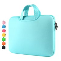 Wholesale macbook air neoprene resale online - computer Sleeve Laptop bag Soft Case Cover handbag Notebook bag sleeve quot quot quot quot quot inner bag